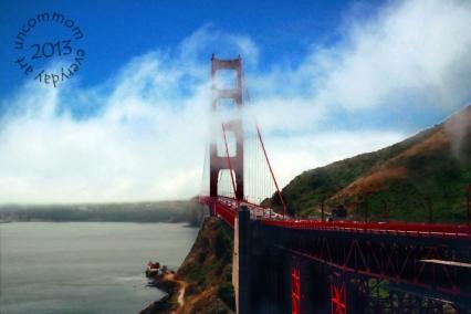 SA L1301B Gold Gate Bridge