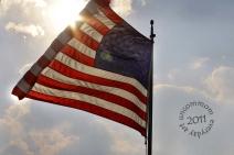 SA S1103F September 24 American Flag