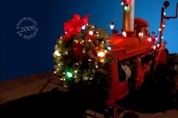 SA C0907 Christmas Tractor 1000